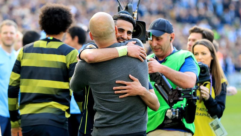 Riyad Mahrez tranche sur son avenir — Man City