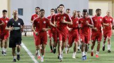 EN : Premier entraînement au Caire sans Bennacer