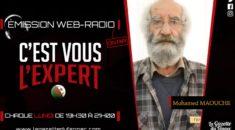 """""""C'est vous l'Expert"""" : Mohamed Maouche, un invité de légende !"""