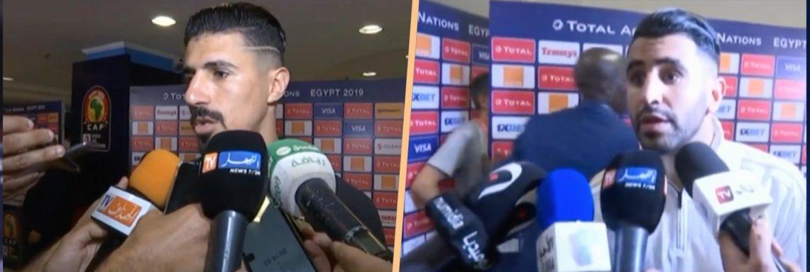 Réactions des joueurs après Algérie-Kenya