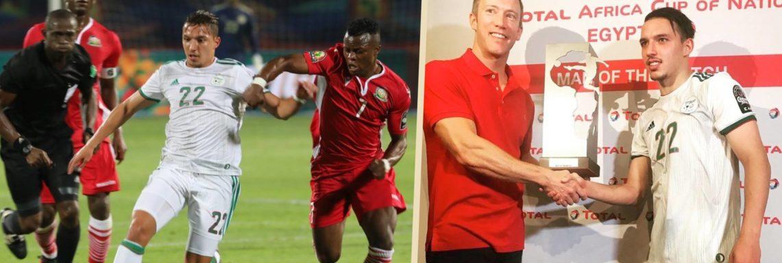 ALG-KEN (2-0) : Bennacer désigné homme du match