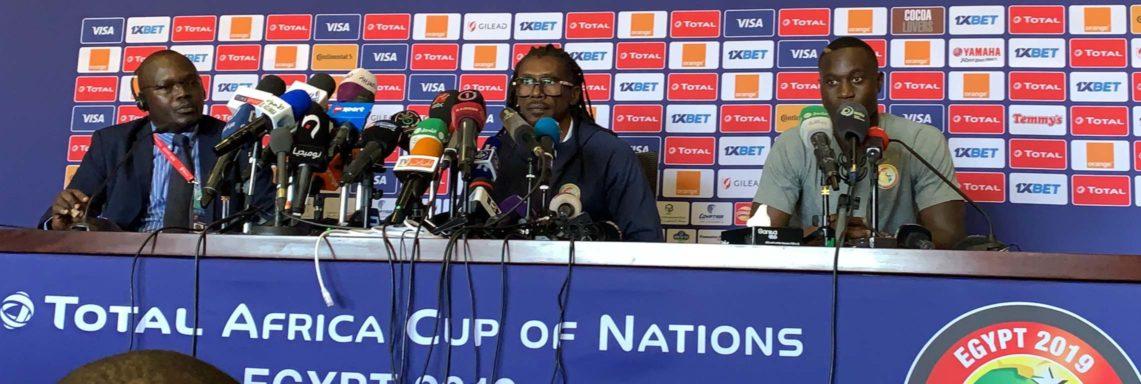 """Aliou Cissé : """"le match de l'Algérie sera un test pour le Sénégal"""""""