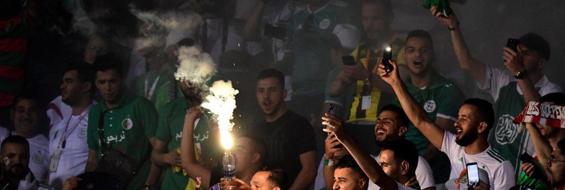 CAN-2019 : L'Algérie mise à l'amende à cause des fumigènes