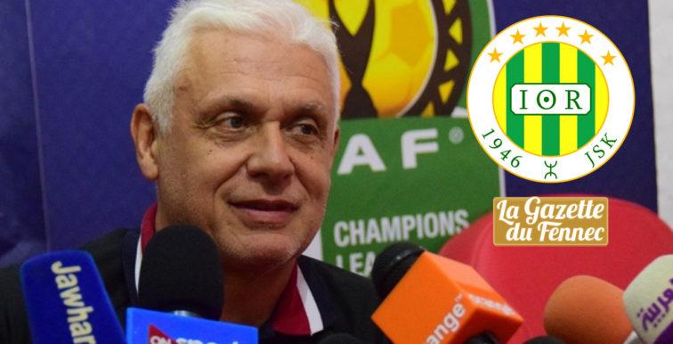 JSKabylie : Hubert Velud nouveau coach des Canaris