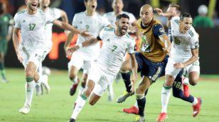 Algérie 2-1 Nigeria : Les Zhommes !