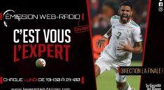"""Nigeria 1-2 Algérie  : Les notes de """"C'est Vous L'Expert"""""""