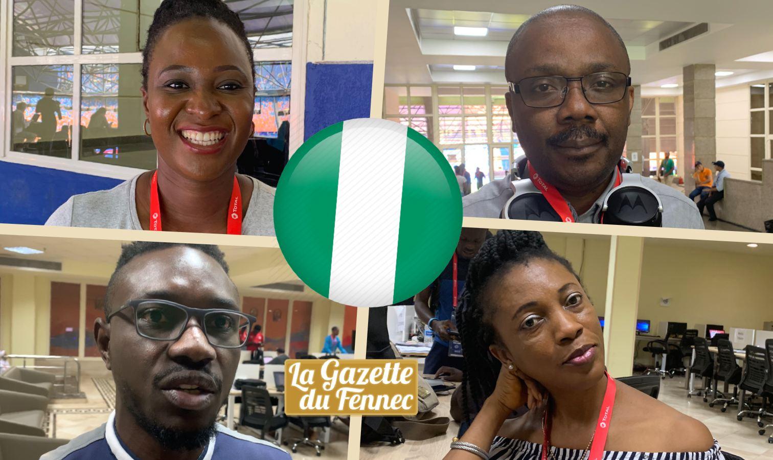 nigeria journalistes