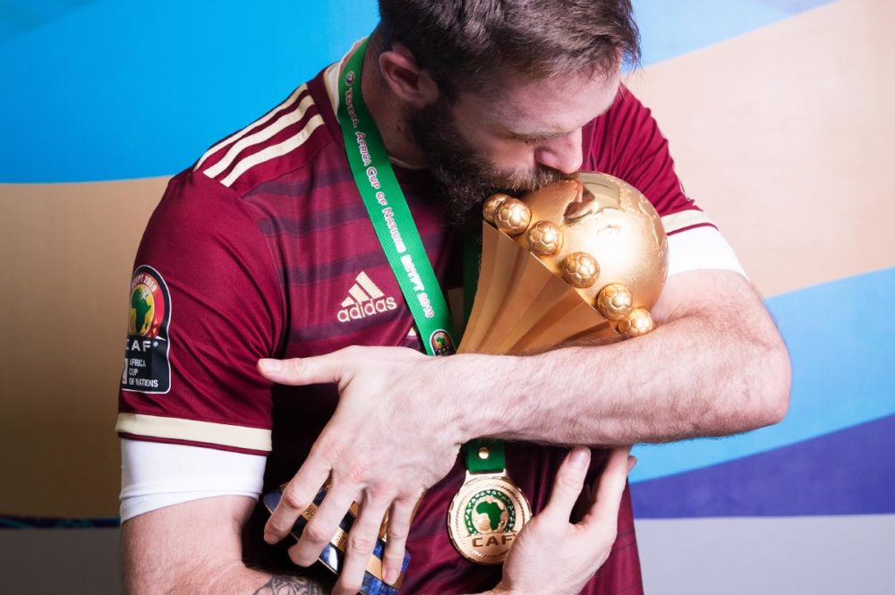 ?Shooting photo des Champions d'Afrique 2019 !