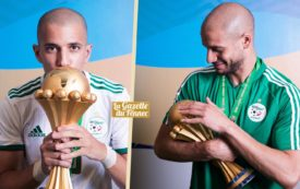 Shooting photo des Champions d'Afrique 2019 !
