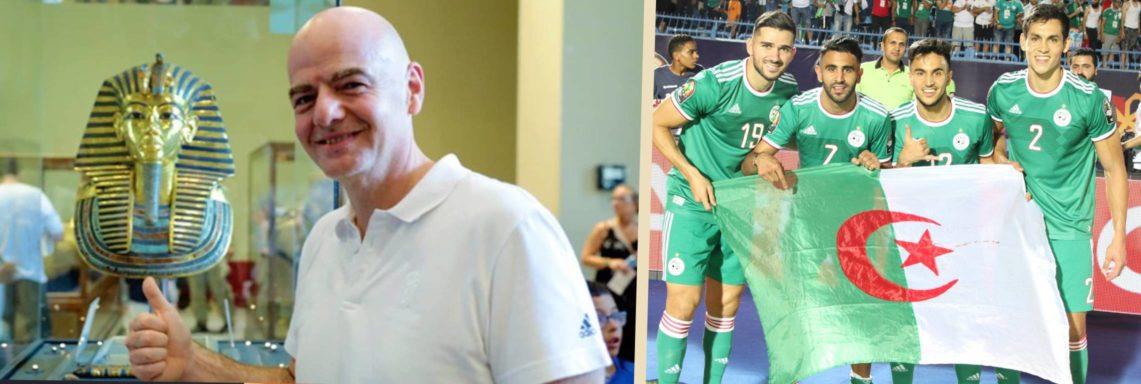 """Infantino : """"L'Algérie est une grande équipe"""""""