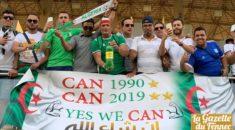 Les supporters DZ ont mis l'ambiance à l'entrainement des Verts !