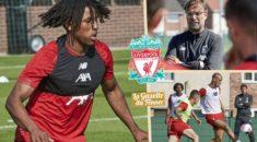 Liverpool : Yasser Larouci à la reprise des entrainements avec les pros !