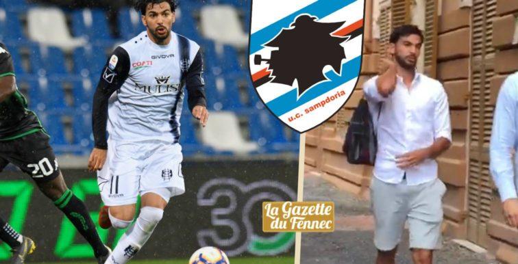 Sampdoria : Mehdi Léris a passé sa visite médicale