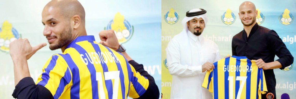 Qatar : Guedioura officialise avec Al Gharafa SC