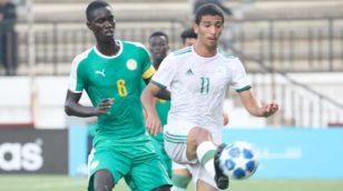 U20 : le Sénégal domine l'Algérie à Bologhine en amical (4-2)