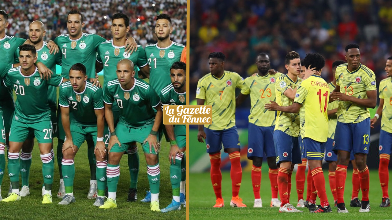 Un match amical Algérie-Colombie