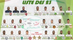 Algérie-Bénin (amical) : Belmadi fait appel à 23 joueurs