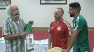 La Fondation de l'Équipe nationale du FLN honore les Verts