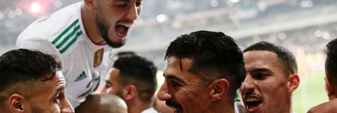 Amical : l'Algérie déroule contre la Colombie (3-0)