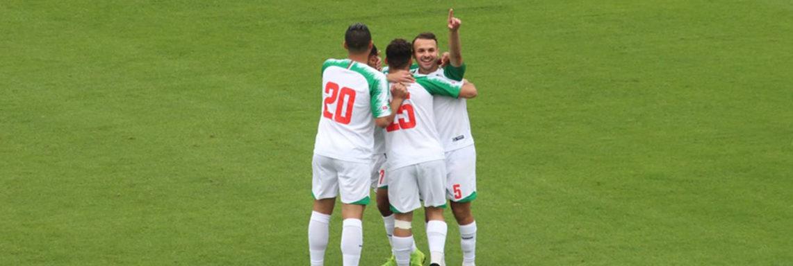 Championnat du monde militaire : Algérie 4-Irlande 0