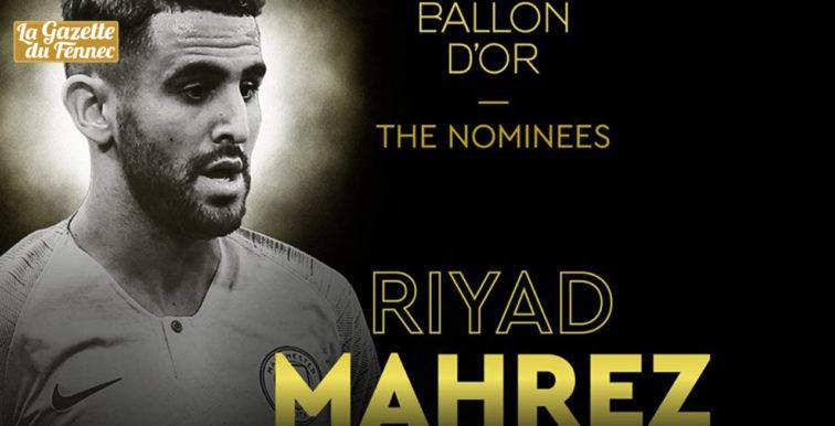 Ballon d'Or-2019 : Mahrez nominé