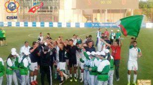 Mondiaux militaires : L'Algérie bat l'Irlande (3-0) et va en demi finale