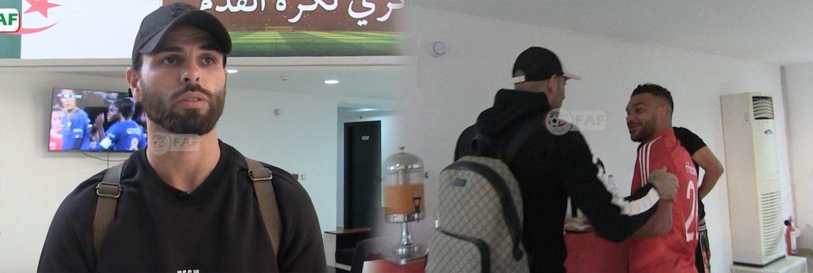 L'arrivée des Verts à Sidi-Moussa