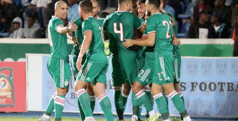 L'Algérie termine l'année 2019 invaincue !