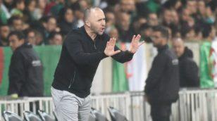 Djamel Belmadi : « Continuer à progresser pour se qualifier à la CAN 2021 »