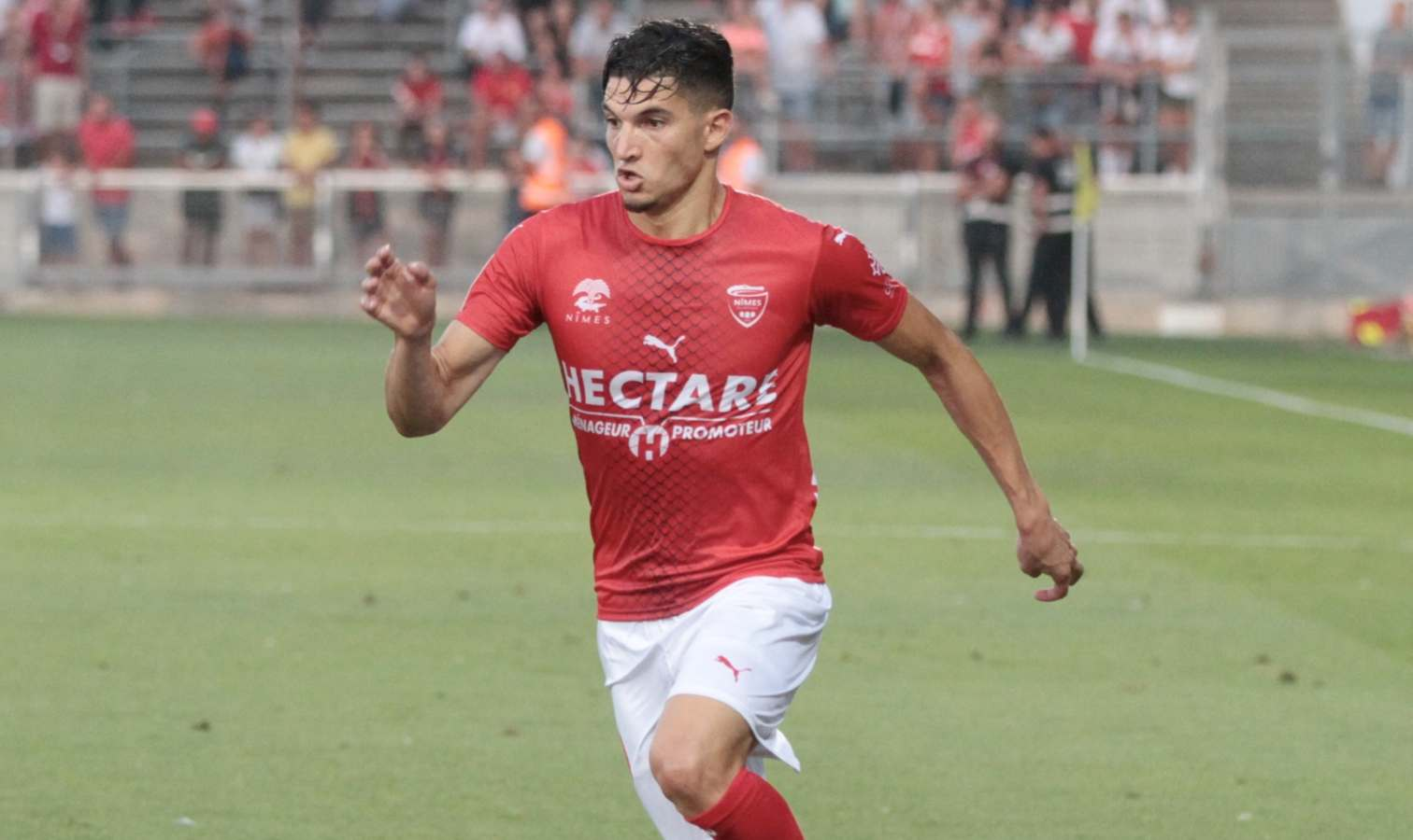 Nimes Ferhat Operationnel Face A Rennes