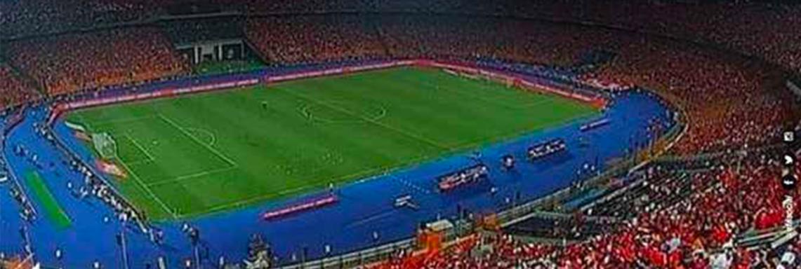 Record du monde. Premier match des U-23 ans de l'histoire du football avec près de 70 000 spectateurs !