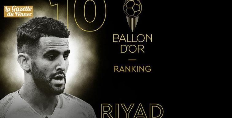 Ballon d'Or-2019 : Mahrez 10e !