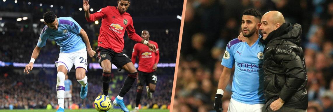 Derby : Mahrez passeur décisif face à Manchester United