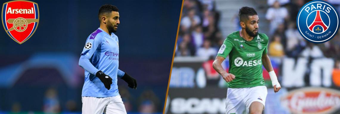 Programme #16 : Mahrez face aux Gunners, Boudebouz vs PSG