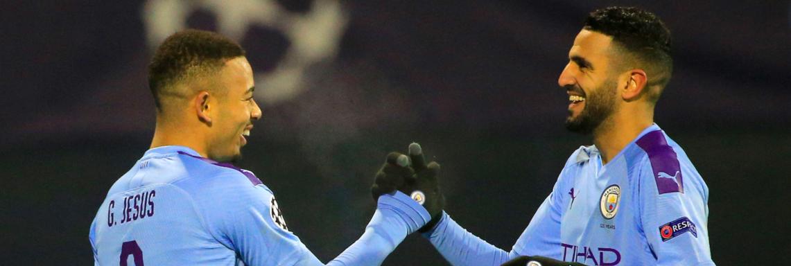 LDC : Mahrez passeur décisif contre le Dinamo Zagreb (1-4)