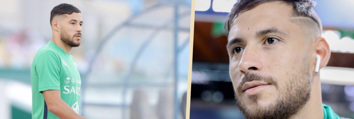 Ahli Djeddah : un mois d'indisponibilité pour Belaïli