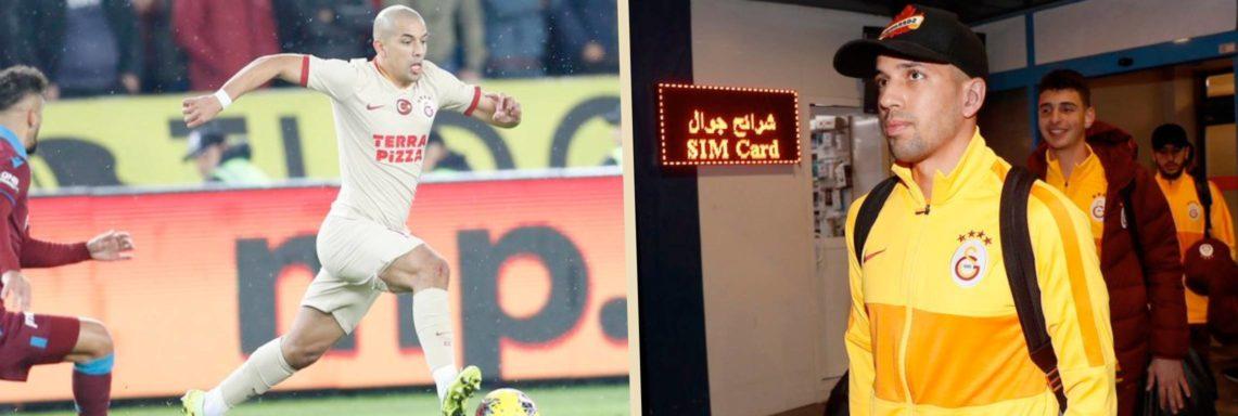 Galatasaray : Feghouli forfait face au PSG
