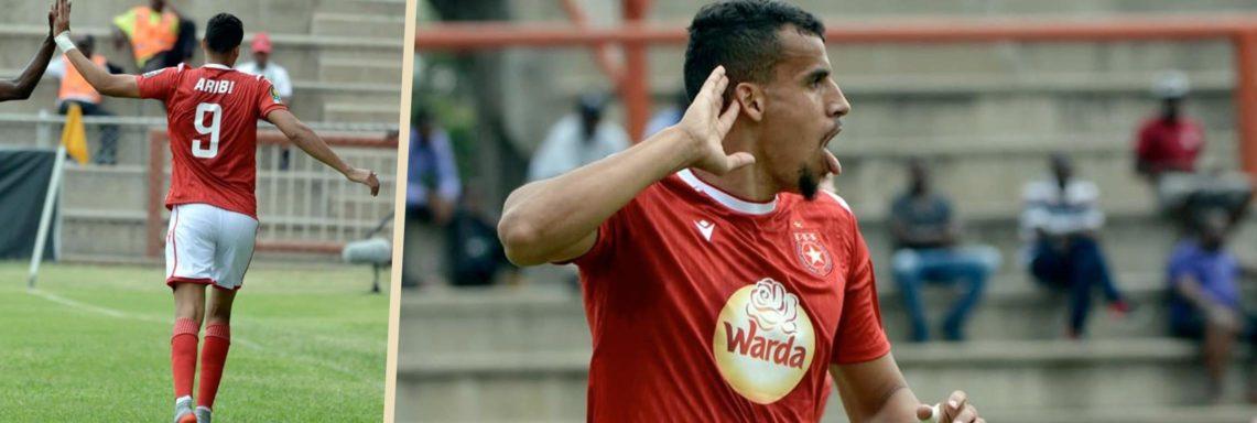 CAF CL : Karim Aribi caracole en tête avec 9 buts !