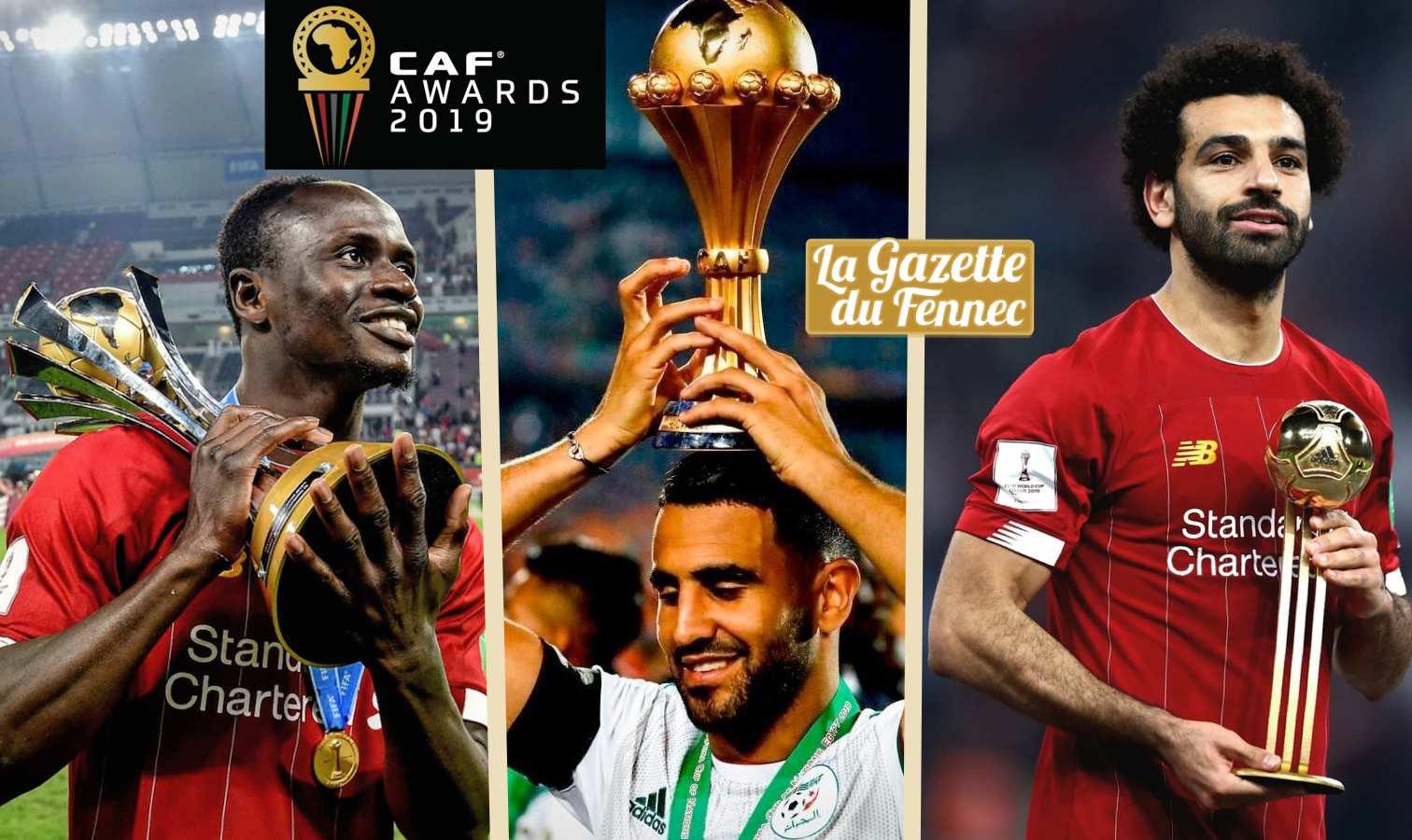 Mahrez dans le top 3 — Meilleur joueur africain