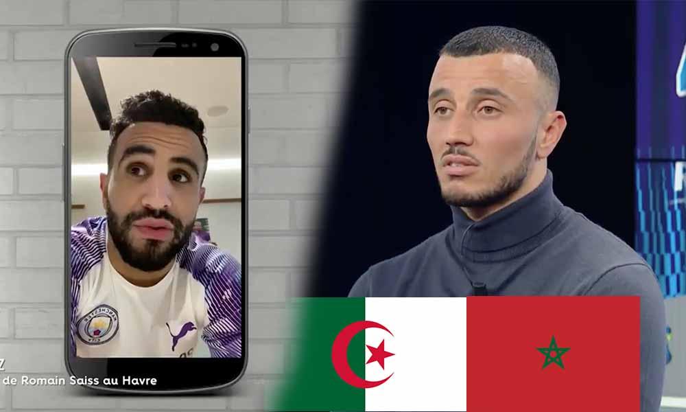 mahrez maroc algérie