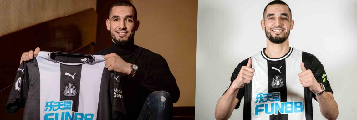 Newcastle : Bentaleb s'engage officiellement avec les Magpies