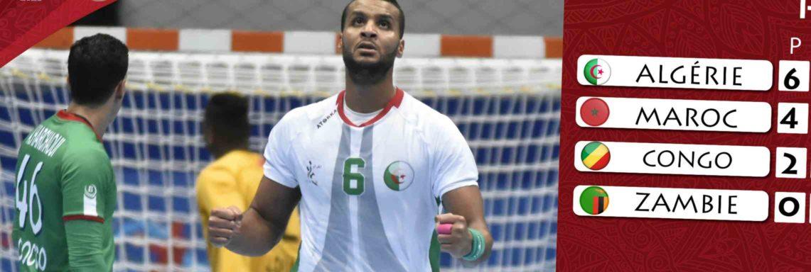 CAN 2020 Handball : Maroc-Algérie (30-33), les Verts terminent en tête du groupe