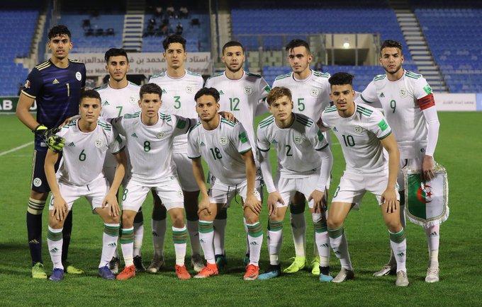 U20 team alg arabe cup U20