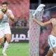 belaili double buteur al ahli celebration