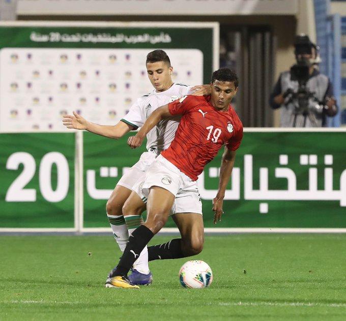 duel des egyptien alg arabe cup U20