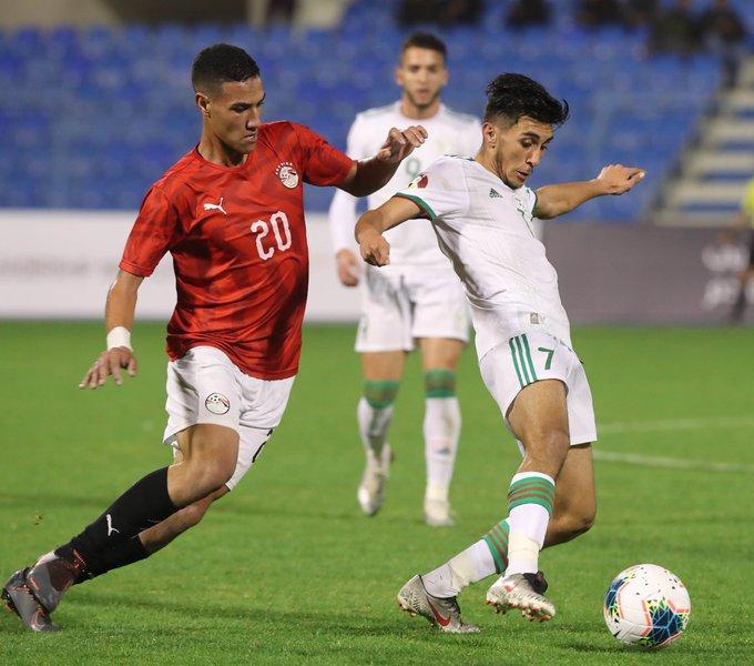 duel egyptien rouge alg arabe cup U20