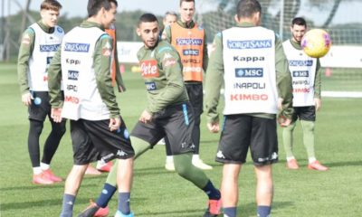 ghoulam entrainement napoli