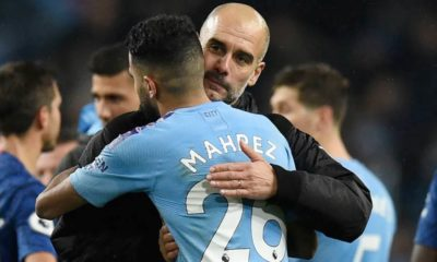 guardiola city accolade mahrez dos