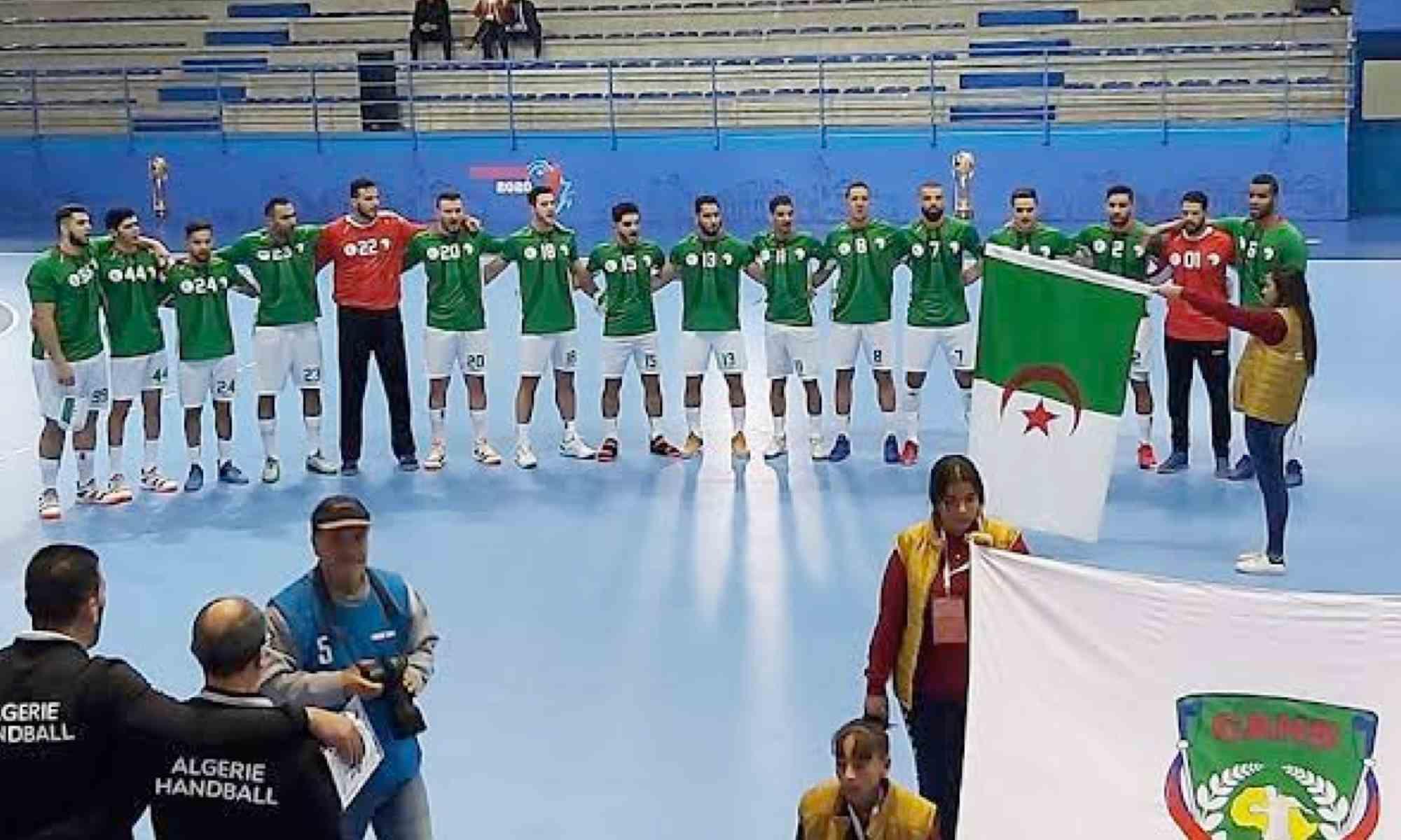 handball can2020 team algerie