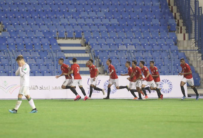 humiliation alg arabe cup U20